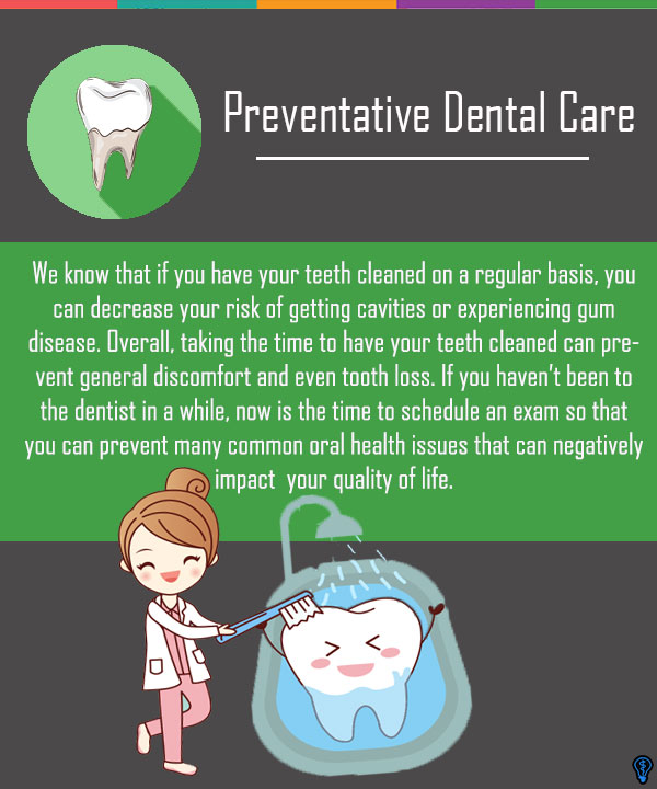 Tooth Decay, Gum Disease, Infection: Take Preventative Action